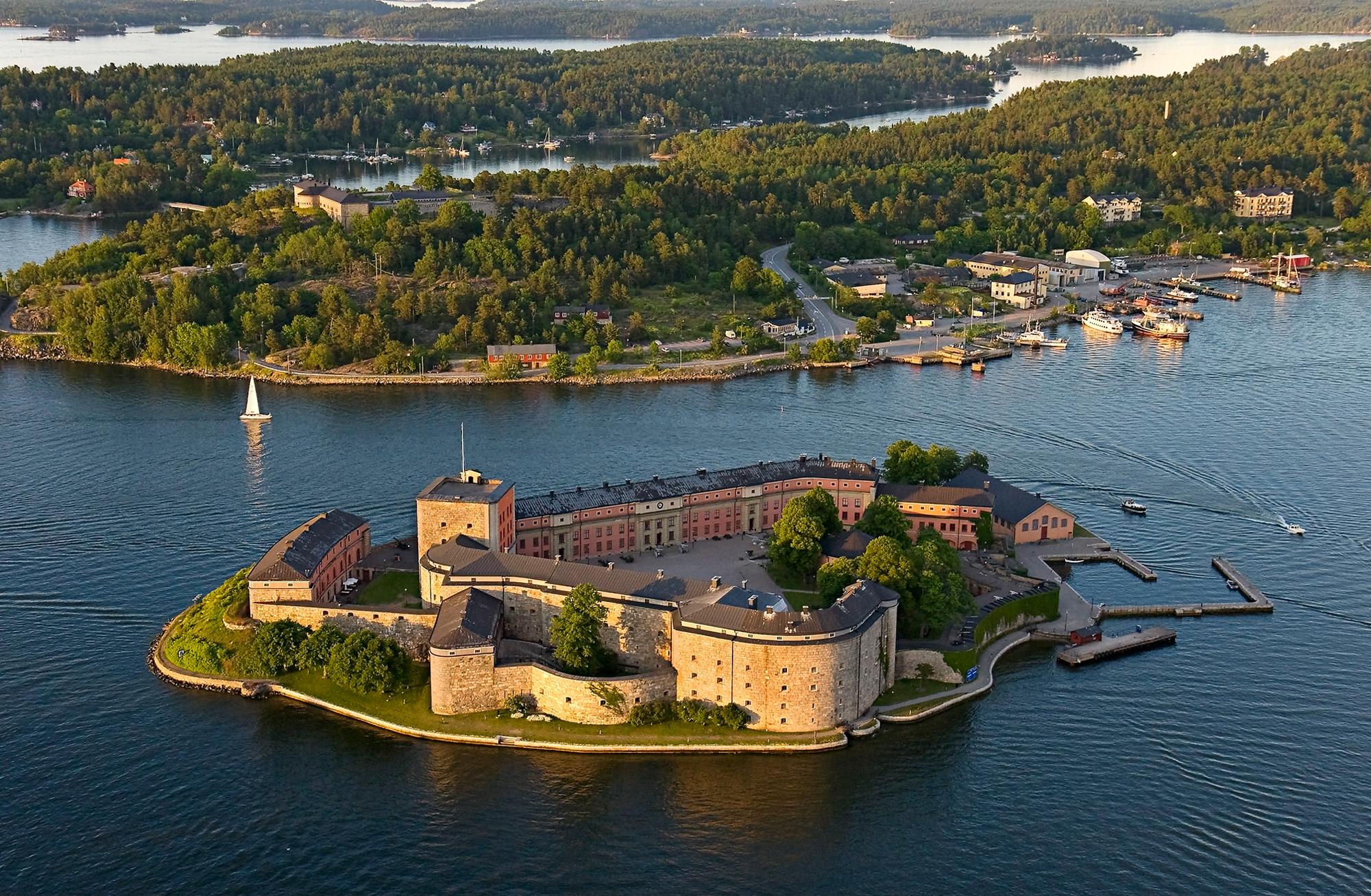 Vaxholms fästning, Vaxholms kastell, Vaxholm, Sverige