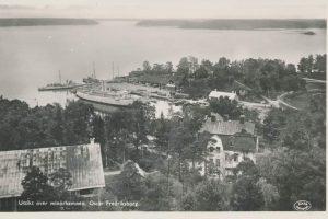 karusell hamnen från tornet Rindö